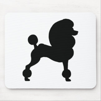 Clipped Standard Poodle Mouse Pad