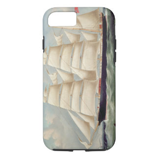 Clipper Barque 'Clendovey' (oil on canvas) iPhone 8/7 Case