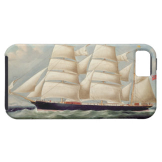 Clipper Barque 'Clendovey' (oil on canvas) iPhone SE/5/5s Case
