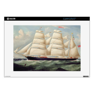 """Clipper Barque 'Clendovey' (oil on canvas) Skins For 15"""" Laptops"""