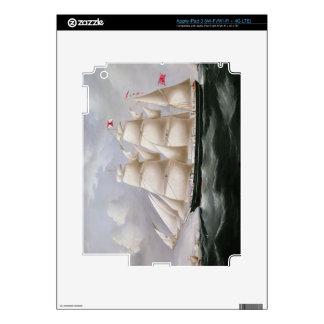 Clipper Barque 'Procymatia' off Dover (oil on canv iPad 3 Skins