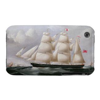 Clipper Barque 'Procymatia' off Dover (oil on canv iPhone 3 Case-Mate Cases