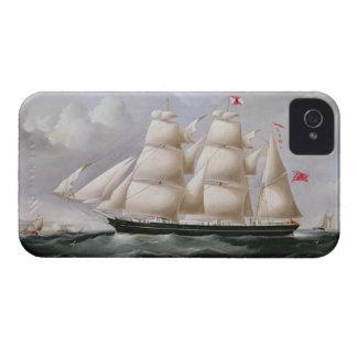 Clipper Barque 'Procymatia' off Dover (oil on canv iPhone 4 Case
