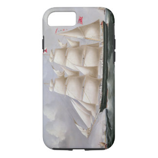 Clipper Barque 'Procymatia' off Dover (oil on canv iPhone 8/7 Case