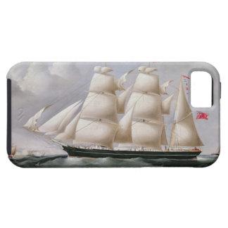 Clipper Barque 'Procymatia' off Dover (oil on canv iPhone SE/5/5s Case