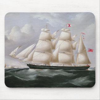 Clipper Barque 'Procymatia' off Dover (oil on canv Mouse Pad