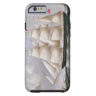 Clipper Barque 'Procymatia' off Dover (oil on canv Tough iPhone 6 Case