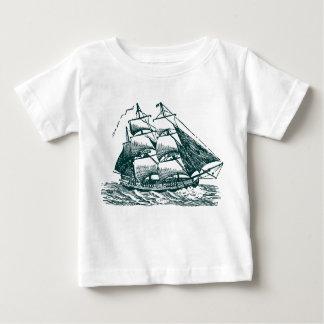 Clipper - Dark Green Baby T-Shirt