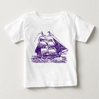 Clipper - Deep Purple Baby T-Shirt