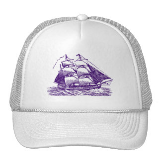 Clipper - Deep Purple Trucker Hat