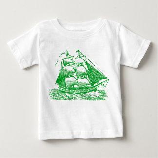 Clipper - Grass Green Baby T-Shirt