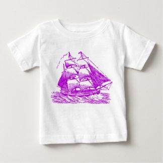 Clipper - Purple Baby T-Shirt