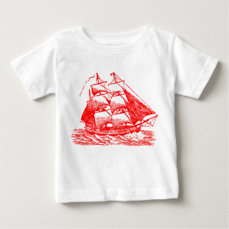 Clipper - Red Baby T-Shirt