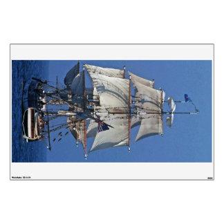 Clipper Sailing Ship Wall Decal