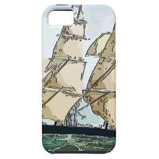 Clipper Ship iPhone 5 Cover