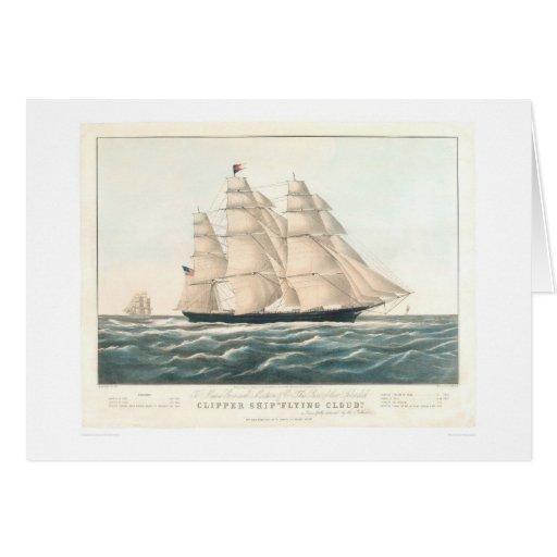 "Clipper ship ""Flying Cloud"" (0397A) Card"