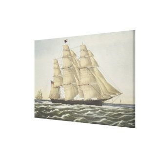 Clipper Ship, Flying Cloud Canvas Print