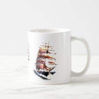 Clipper ship mug