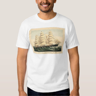 "Clipper ship ""Three Brothers"" (0406A) T-Shirt"