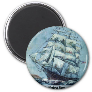 Clipper Ship Western Shore Magnets