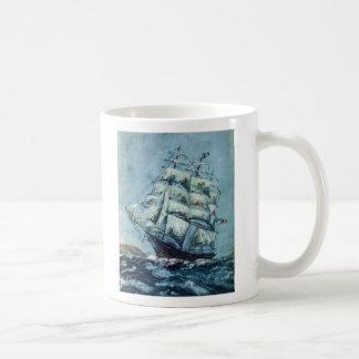 Clipper Ship Western Shore Classic White Coffee Mug