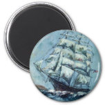 Clipper Ship Western Shore Products Without Text Magnets