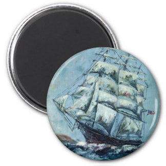 Clipper Ship Western Shore Products Without Text Magnet