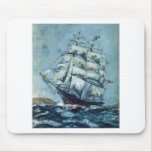 Clipper Ship Western Shore Products Without Text Mousepads