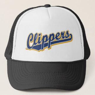 Clippers in Blue and Gold Trucker Hat