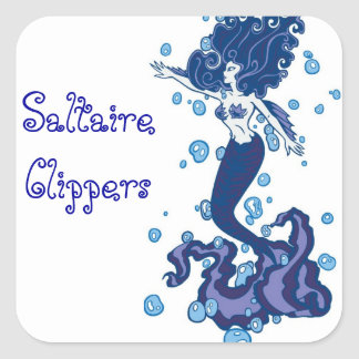 Clippers Mermaid Sticker