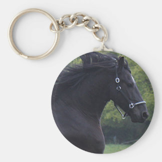 CLIPPINGS THE BLACK PEARL BASIC ROUND BUTTON KEYCHAIN