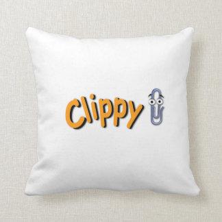 Clippy Logo - Pillow
