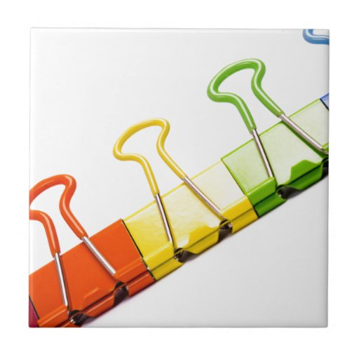 clips coloridos de la diversión azulejos ceramicos