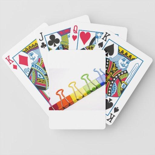 clips coloridos de la diversión barajas