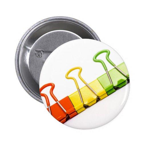 clips coloridos de la diversión pins