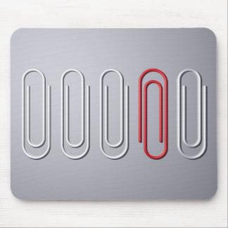 Clips de papel mousepad