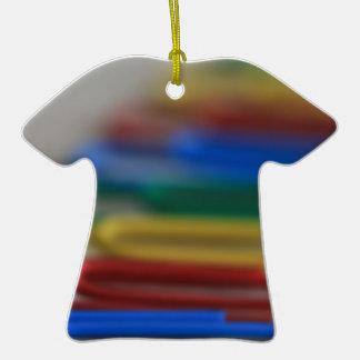 Clips del arco iris ornamentos para reyes magos