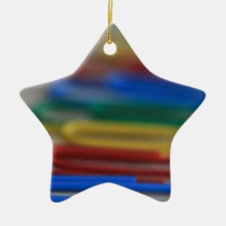 Clips del arco iris adorno de navidad