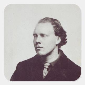 Clive Bell, 1906 Pegatina Cuadrada