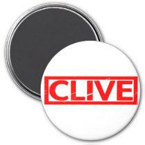 Clive Stamp Magnet