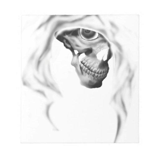 Cloaked Reaper Memo Pad