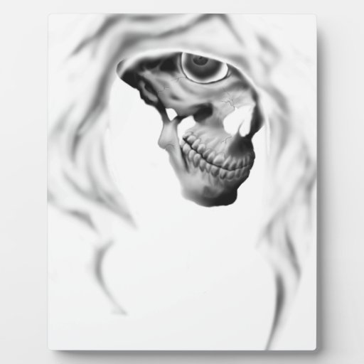 Cloaked Reaper Plaque