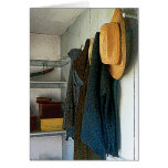 Cloakroom Greeting Card