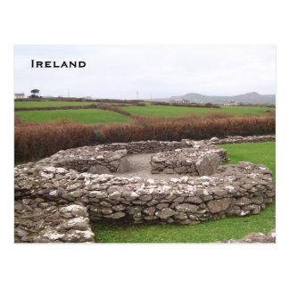 Clochans, Riasc, Dingle, Kerry Ireland Postcard