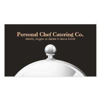 Cloche Personal Chef Catering Company elegante Tarjetas De Visita
