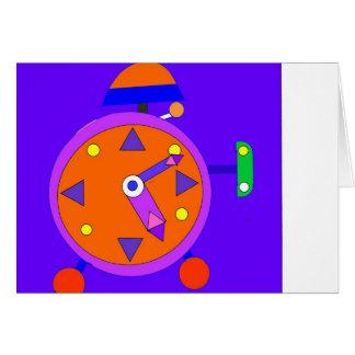 clock 300dpi illustrator copy card