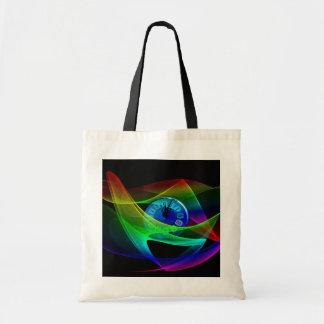 clock-331174 DIGITAL SWIRLS TIMEMACHINE TIMEWARP A Canvas Bag
