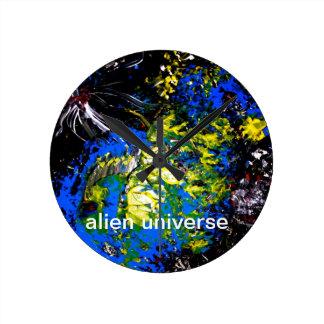 clock alien  universe,
