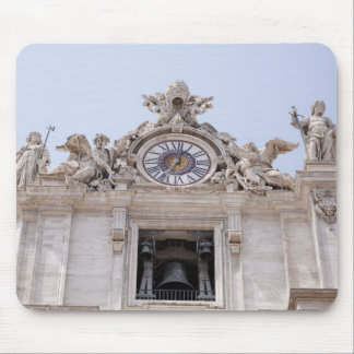Clock and Bell, Vatican City, Rome, Italy Mouse Pad