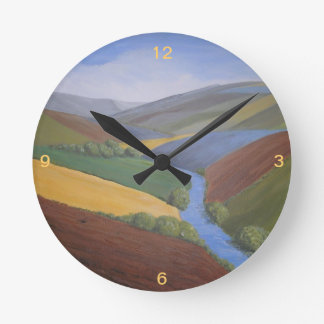 Clock and Painting